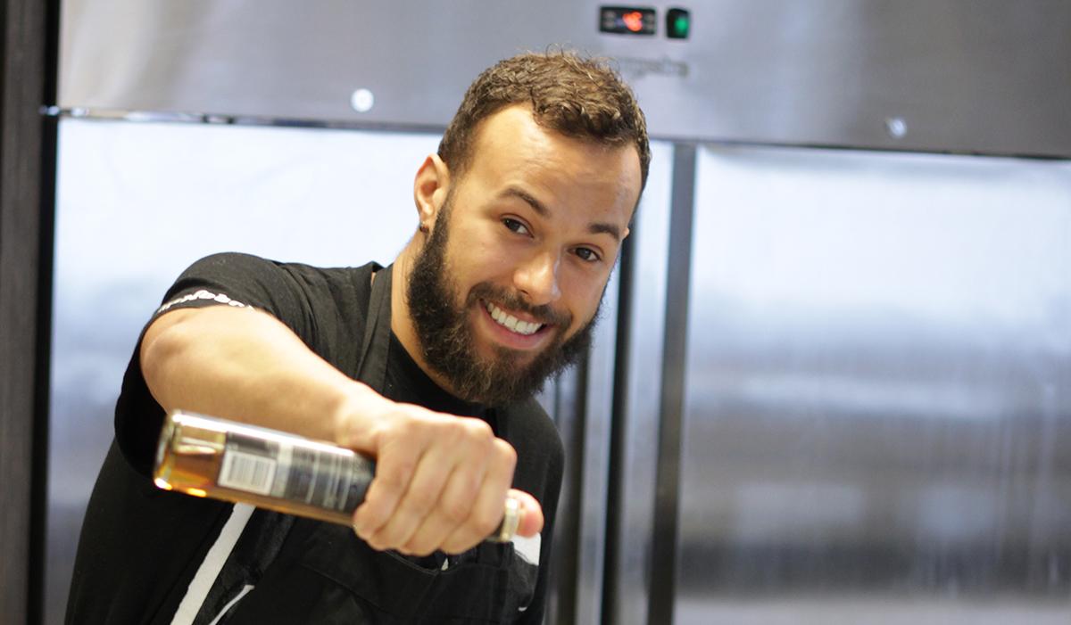 Kai's in the kitchen