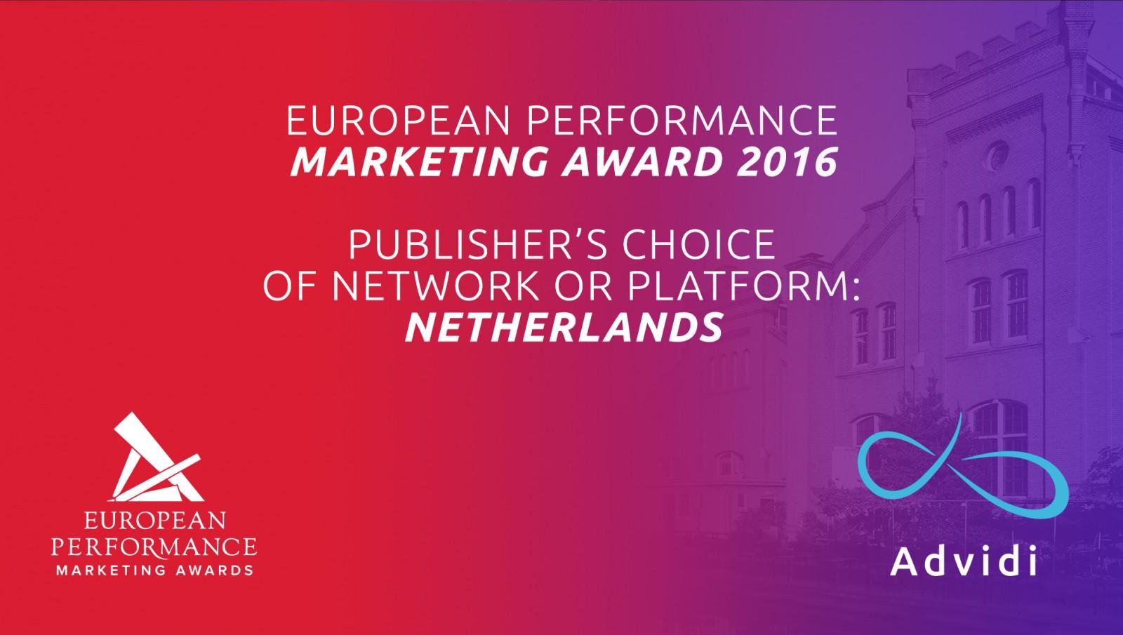 European Performance Award