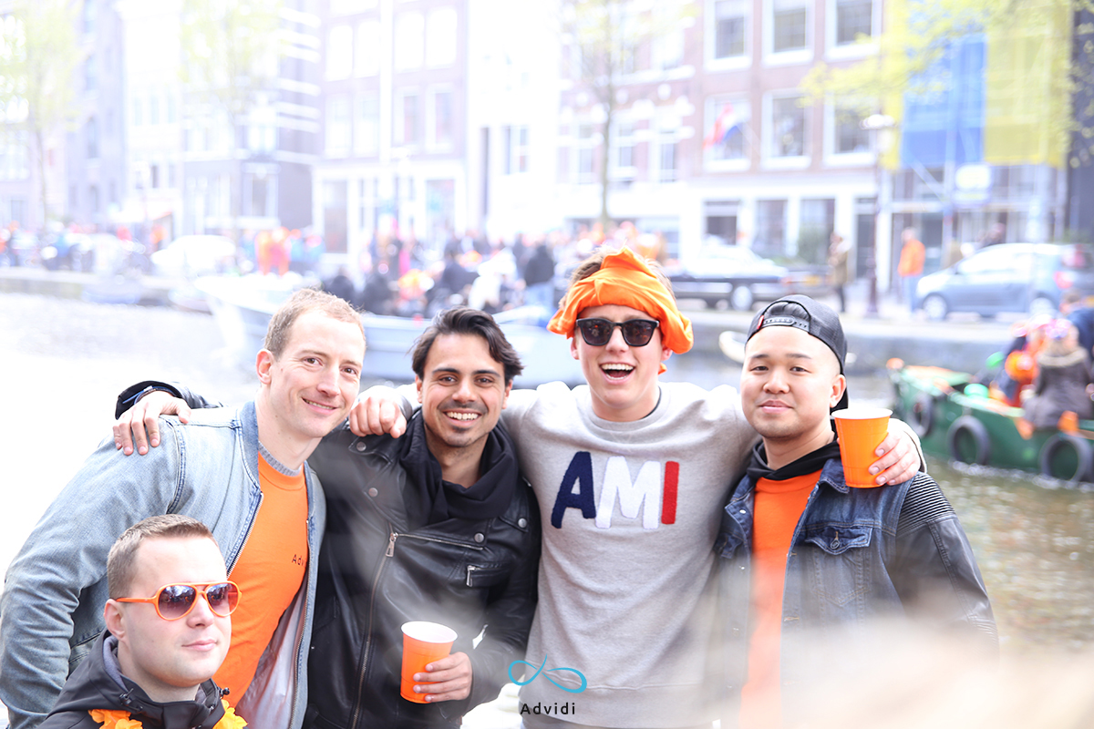 kingsday with Advidi