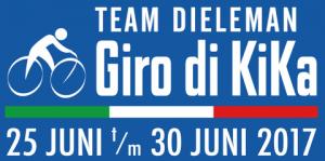 Giro logo team Dieleman