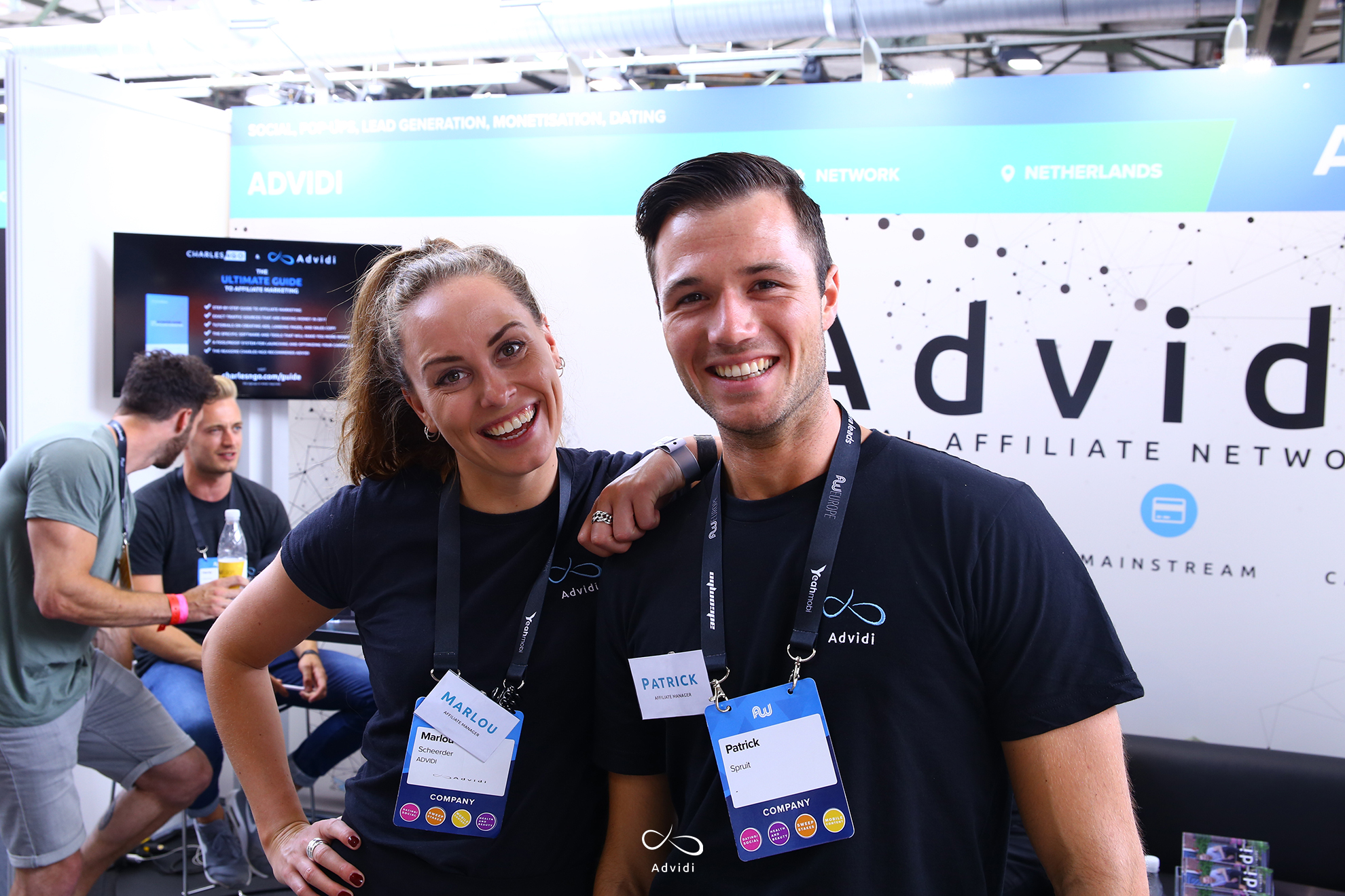 Our Sales Managers Marlou and Patrick at the AWE conference in Berlin 2017