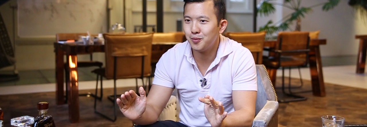 Exclusive Interview with Charles Ngo at the Advidi Office