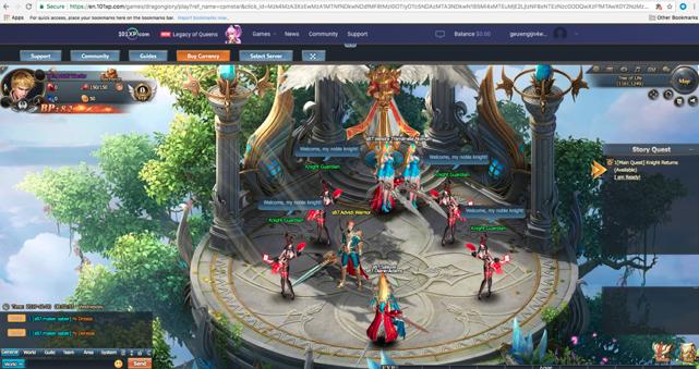 Browser-based Gaming offer image