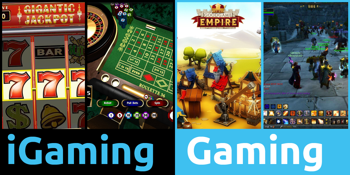 difference between igaming and gaming