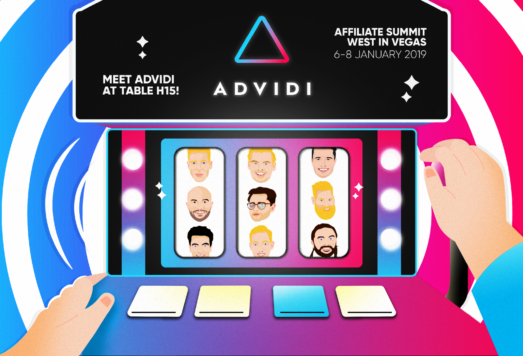 Join Advidi's Lucky 9 at ASW In Las Vegas